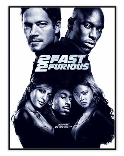 The Fast and the Furious posters