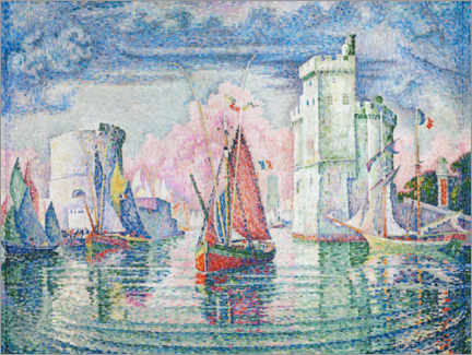 Aluminium print  The Port at La Rochelle - Paul Signac
