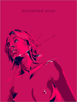 Canvas print  Mulholland Drive - Fourteenlab