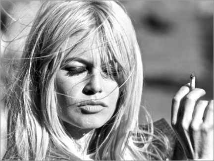 Acrylglas print  Brigitte Bardot - vervliegen - Celebrity Collection
