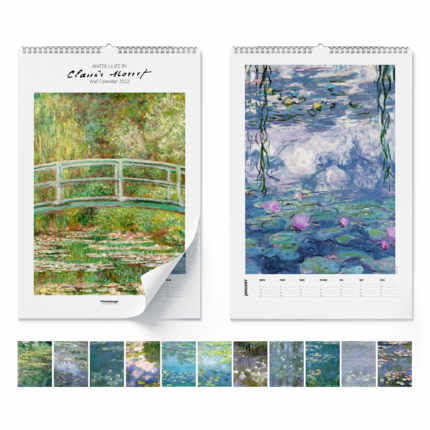 Wandkalender  Claude Monet, Water Lilies 2021 - Claude Monet
