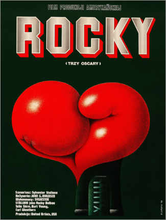 PVC print  Rocky (Polish) - Advertising Collection