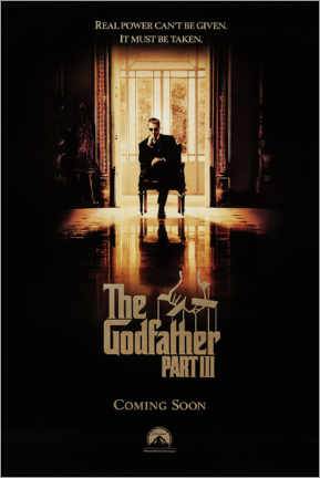 PVC print  The Godfather III (English) - Entertainment Collection