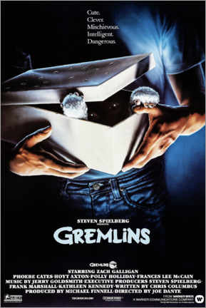 Canvas print  Gremlins (English) - Entertainment Collection