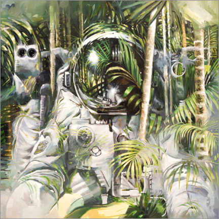 Acrylglas print  Bamboo forest - Johnny Morant