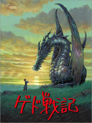 Canvas print  Tales from Earthsea (German) - Entertainment Collection
