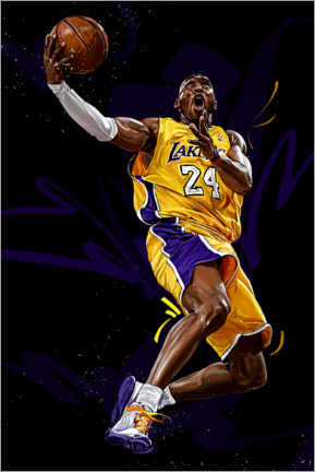 Canvas print  Kobe Bryant - Dmitry Belov
