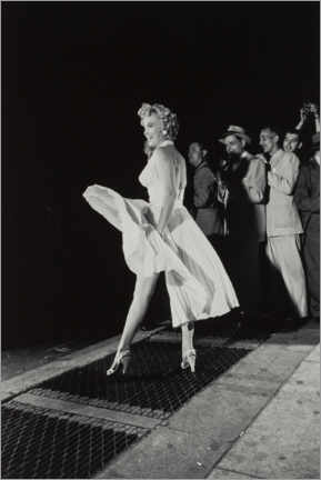 PVC print  Marilyn in an airy dress - Celebrity Collection