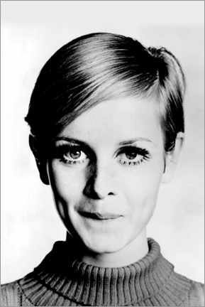 PVC print  Cheeky Twiggy - Celebrity Collection
