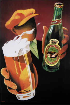 Canvas print  Tuborg Classic - Advertising Collection