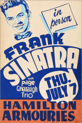 Gallery print  Frank Sinatra - Advertising Collection