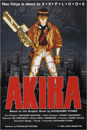 Canvas print  Akira - Entertainment Collection