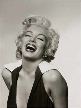 Acrylglas print  Marilyn with a radiant smile - Celebrity Collection
