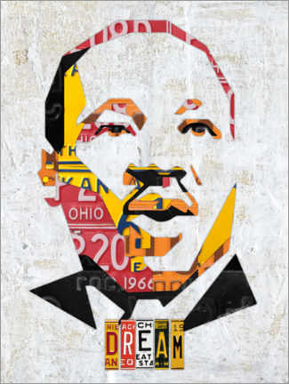 Canvas print  Martin Luther King - Design Turnpike