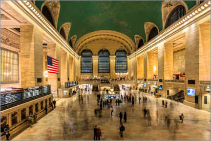 Canvas print  Grand Central Station in New York - Mike Centioli