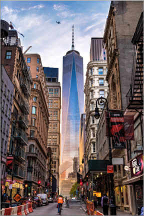 Acrylglas print  One World Tower in New York - Mike Centioli