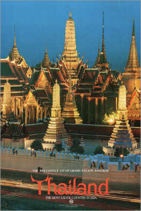 Acrylglas print  Thailand, the most exotic country in Asia - Travel Collection
