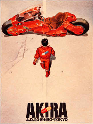 PVC print  Akira - Entertainment Collection