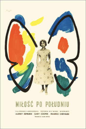Aluminium print  Love in the Afternoon (Polish) - Entertainment Collection