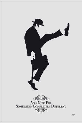 Acrylglas print  Ministry of Silly Walks - chungkong