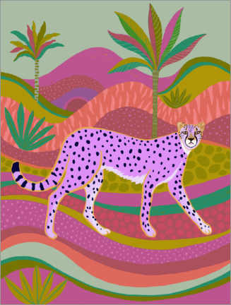 Canvas print  Cheetah - Janet Broxon