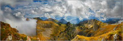 Premium poster Hochiss in the Rofan Mountains, Tyrol