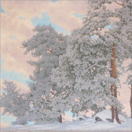 Premium poster Winter scene from Glava