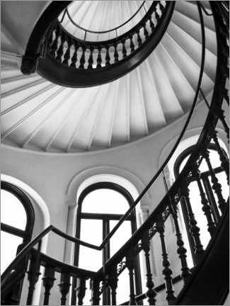 Gallery print  Spiral staircase II - Magda Izzard