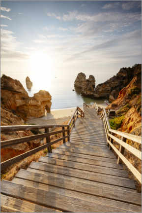 Gallery print  To the beach, Algarve, Portugal - Matteo Colombo