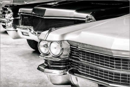 Premium poster Classic cars from the seventies