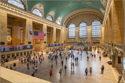 Canvas print  Grand Central Terminal - Jan Christopher Becke