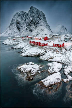 Gallery print  Picturesque Hamnoy - André Wandrei