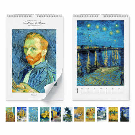 Wandkalender  Yellow & Blue 2021 - Vincent van Gogh