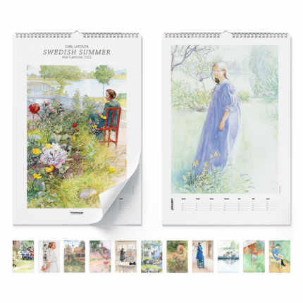 Wandkalender  Swedish Summer 2021 - Carl Larsson