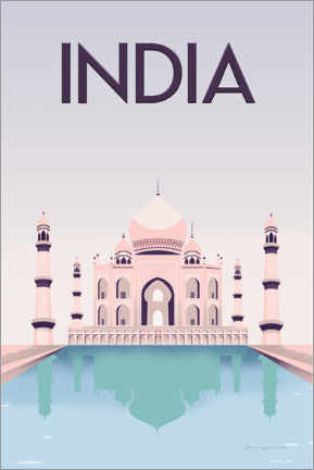 Canvas print  India - Omar Escalante