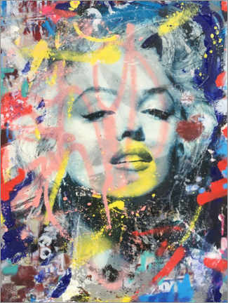 Canvas print  Marilyn - Lucia Schautz