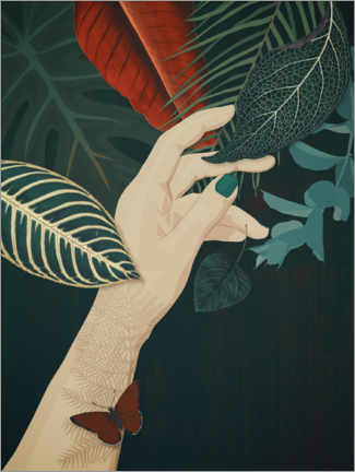 Gallery print  One with nature - Sybille Sterk