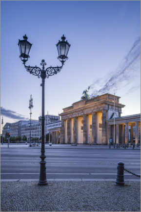 Canvas print  Brandenburg Gate at the Place of March 18th - Jan Christopher Becke