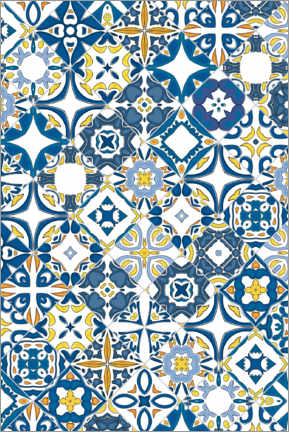 Acrylglas print  Azulejo tiles in Portugal