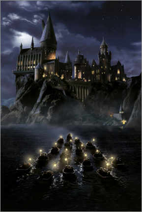 Premium poster Harry Potter and the Philosopher's Stone, Hogwarts