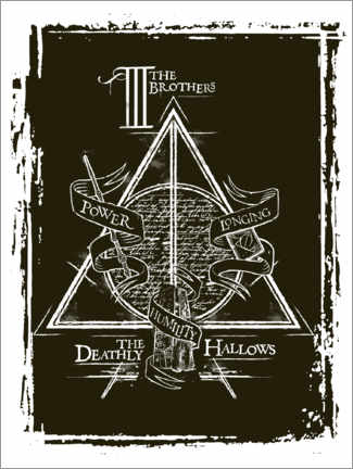 Premium poster  Peverell family - The Deathly Hallows