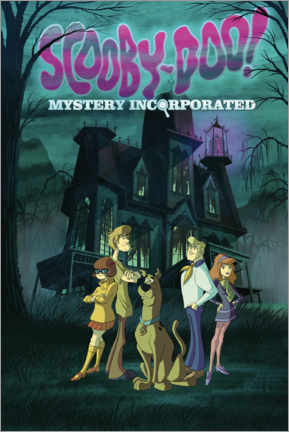 Premium poster  Scooby Doo - Mystery Incorporated