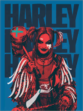 Premium poster  Mad Harley
