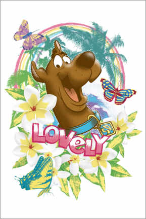 Gallery print  Holiday Scooby