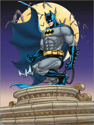 Premium poster  Batman Moonlight