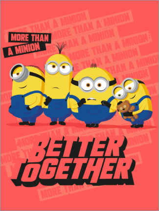 Premium poster  Minions, Better Together