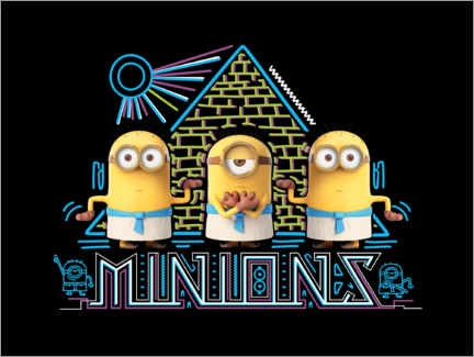 Gallery print  Minions in Egypte