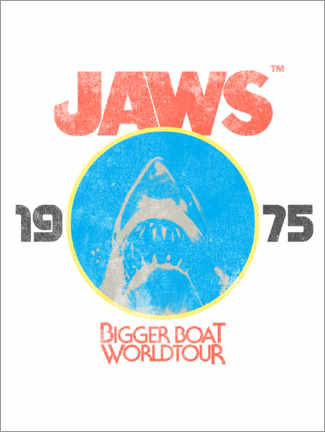 Premium poster  Bigger Boat World Tour