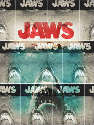 Premium poster  Jaws collage