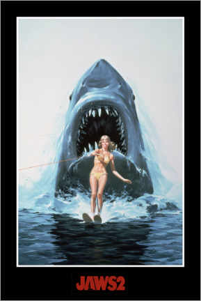 Premium poster  Jaws 2 - waterski